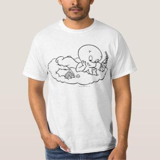 Casper que Snacking na nuvem Camiseta