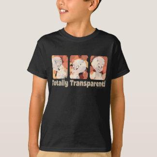 Casper totalmente transparente camiseta