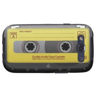 Cassete de banda magnética capinhas samsung galaxy s3