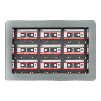 Cassete de banda magnética da velha escola