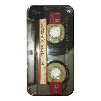 Cassete de banda magnética da velha escola capinha iPhone 4