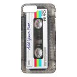 Cassete de banda magnética retro engraçada de capa iPhone 7