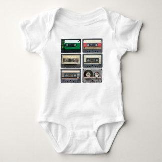 Cassetes de banda magnética camiseta