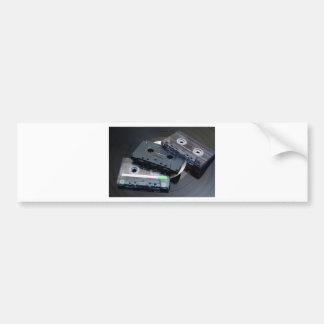 Cassetes de banda magnética retros adesivo para carro
