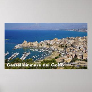 Castellammare del Golfo, poster de Sicília Italia