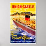 Castelo da união a África do Sul Impressão