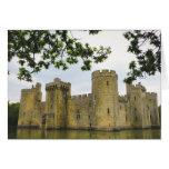 Castelo de Bodiam Cartão Comemorativo
