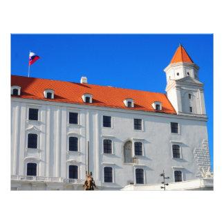 Castelo de Bratislava Panfleto Coloridos