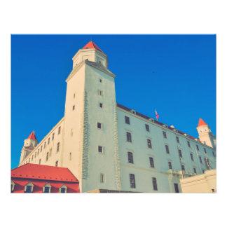Castelo de Bratislava Panfletos Personalizado