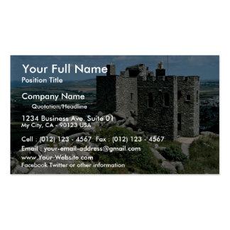 Castelo de Brea do Carn no Riviera Cornish Cartão De Visita