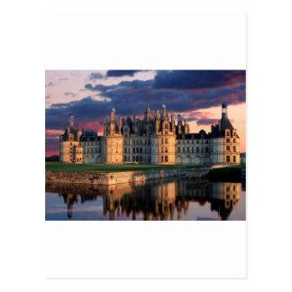 castelo de castelo de chambord, Loire Valley, Fran Cartao Postal