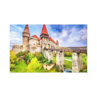 Castelo de Corvin das canvas