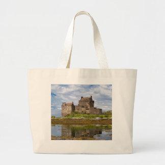 Castelo de Eilean Donan do panorama visto do sul Bolsa Para Compra