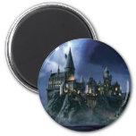 Castelo de Hogwarts na noite Imã De Refrigerador