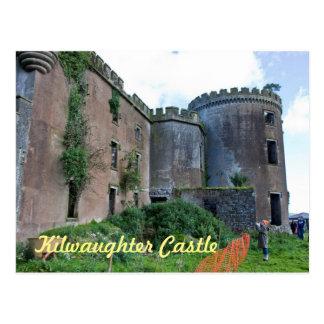 Castelo de Kilwaughter, cartão de Antrim do