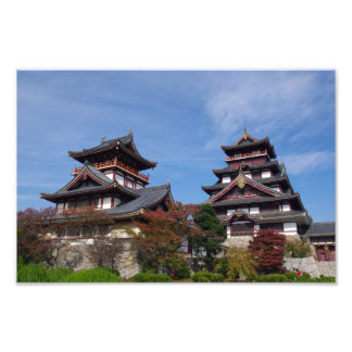 Castelo de Momoyama em Fushimi Kyoto Foto Artes