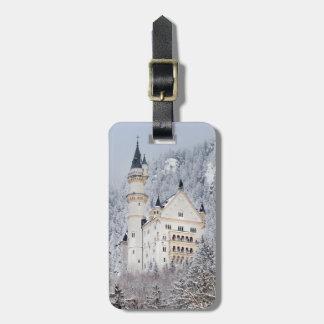 Castelo de Neuschwanstein Etiqueta De Bagagem