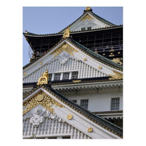 Castelo de Osaka Cartao Postal