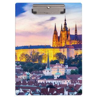 Castelo de Praga das pranchetas