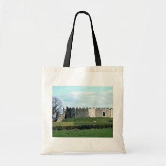 Castelo de Restormel no Riviera Cornish Sacola Tote Budget