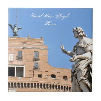 Castelo de Sant'Angelo em Roma, Italia