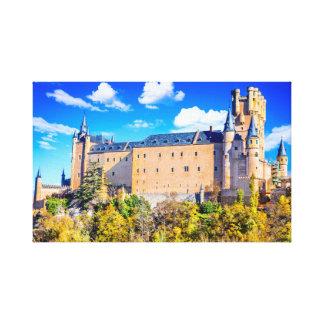 Castelo de Segovia das canvas