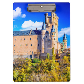 Castelo de Segovia das pranchetas