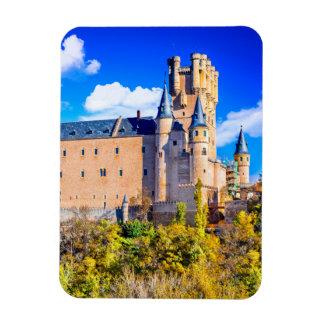 Castelo de Segovia do ímã da foto