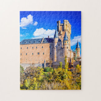 Castelo de Segovia do quebra-cabeça