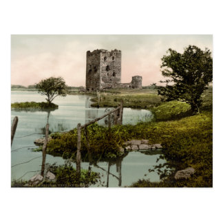 Castelo de Threave, castelo Douglas, Scotland Cartão Postal