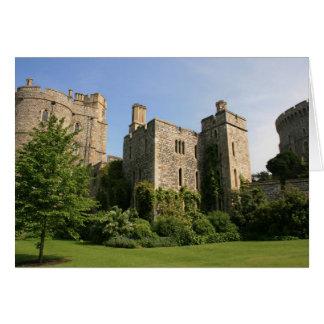 Castelo de Windsor Cartão Comemorativo