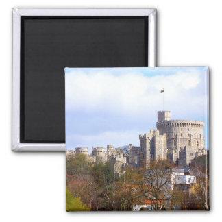 Castelo de Windsor Ímã Quadrado