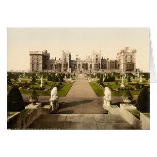 Castelo de Windsor mim, Berkshire, Inglaterra Cartão Comemorativo