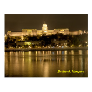 castelo do buda cartão de budapest, Hungria