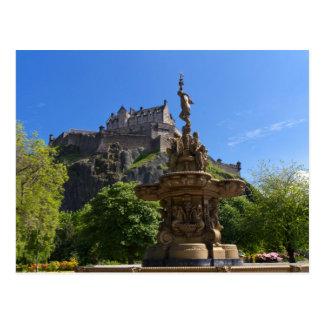Castelo do cartão de Edimburgo