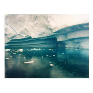 Castelo do gelo, cartão