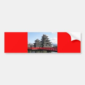 Castelo em Japão Adesivo Para Carro