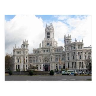 Castelo em Madrid, cartão da espanha Cartão Postal