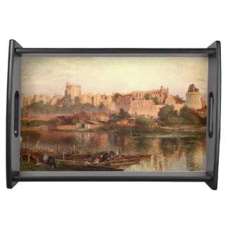 Castelo II de Windsor, Berkshire, Inglaterra Bandejas De Servir