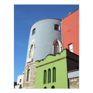 Castelo Ireland de Dublin Flyer 21.59 X 27.94cm