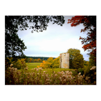 Castelo perigoso - cartão cartão postal