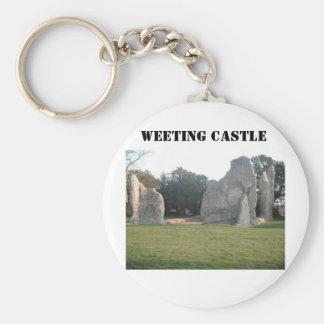 Castelo Weeting Norfolk Inglaterra de Weeting da c Chaveiro