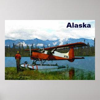 Castor Floatplane de de Havilland Impressão