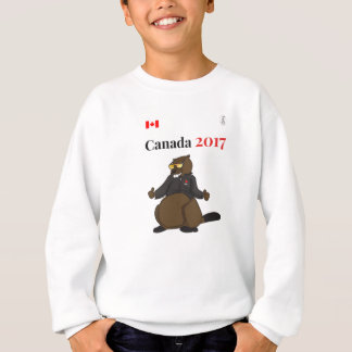 Castor legal de Canadá 150 em 2017 Agasalho