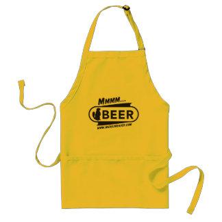Castor mau que fabrica cerveja o avental do CHURRA