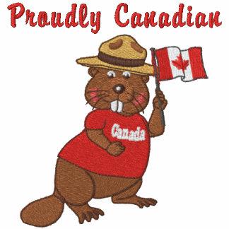 Castor orgulhosa canadense