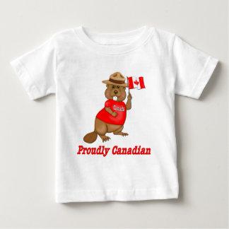 Castor orgulhosa canadense camiseta