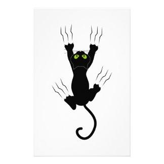 cat claws gato com garras papelaria