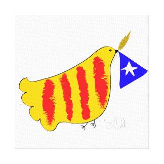 Catalunya Pau mim Llibertat, lona Impressão Em Tela