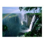 Cataratas Vitória, zimbabwe Cartão Postal